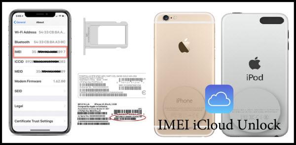 IMEI iCloud unlock