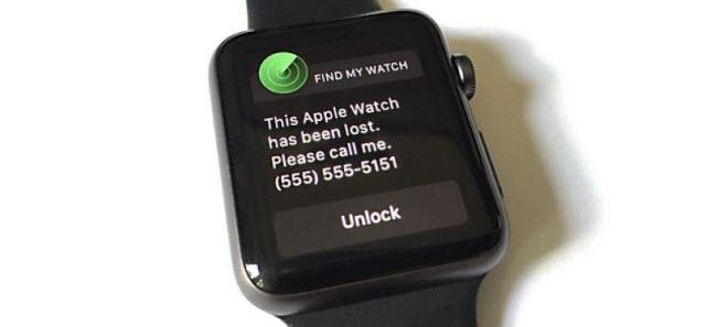 activation lock on apple watch