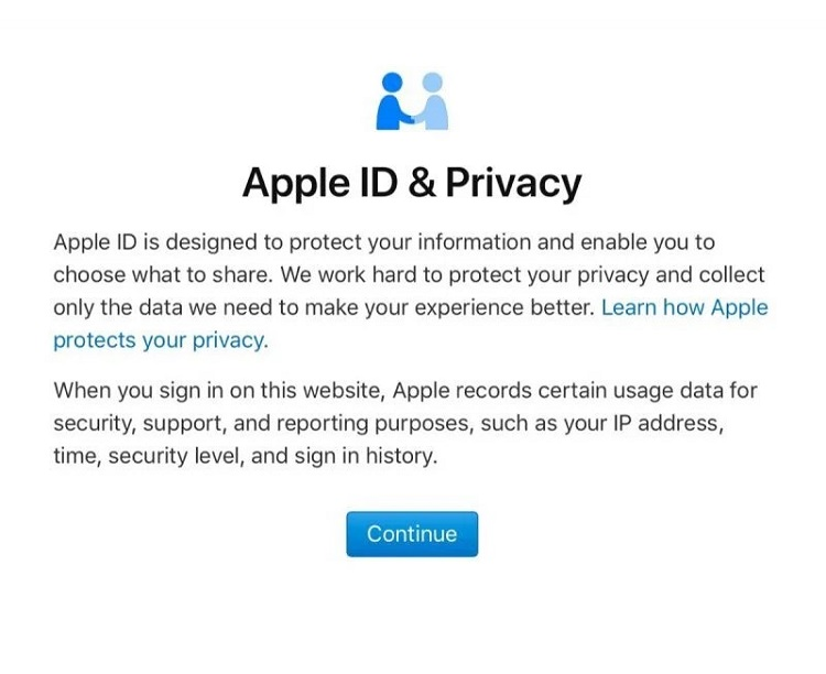 apple id and privacy