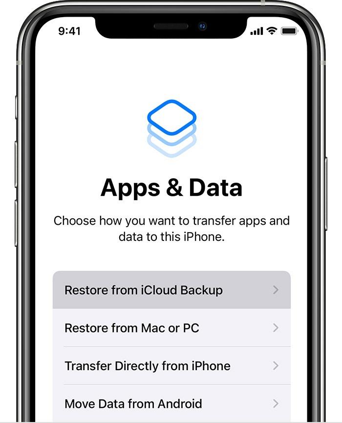 apps data screen