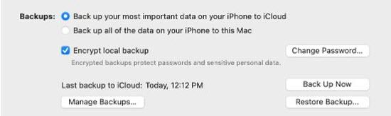 back up on mac