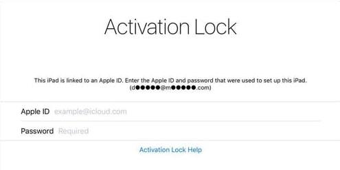 bypass activation lock when locked