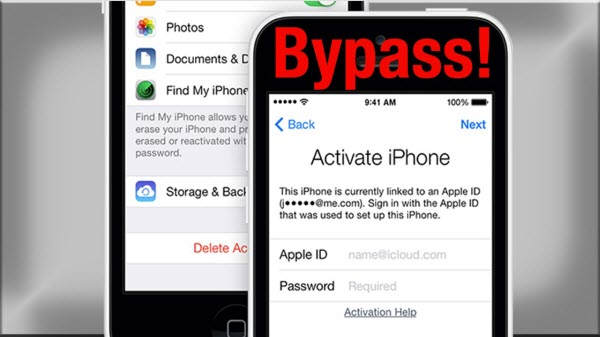 bypass activation lock on iphone