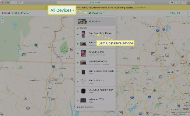 choose from all devices