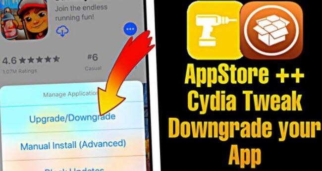 Cydia downgrade apps