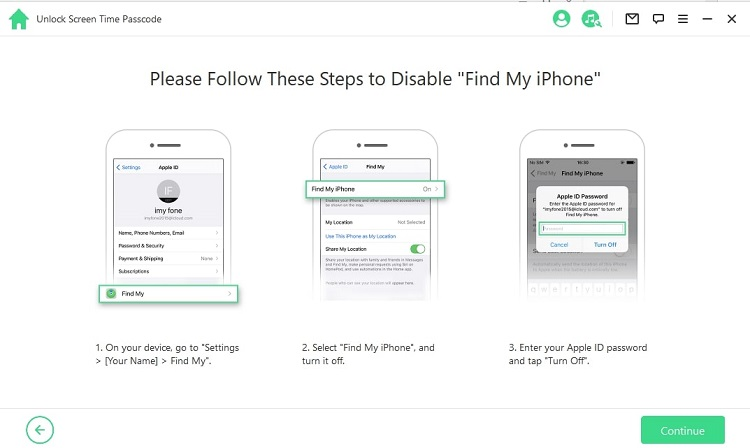 disable-find-my-iphone