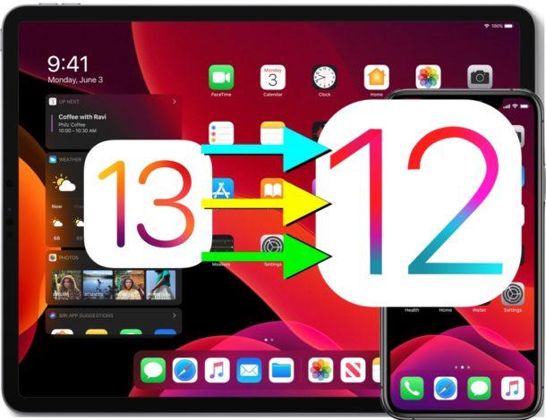 downgrade iOS device