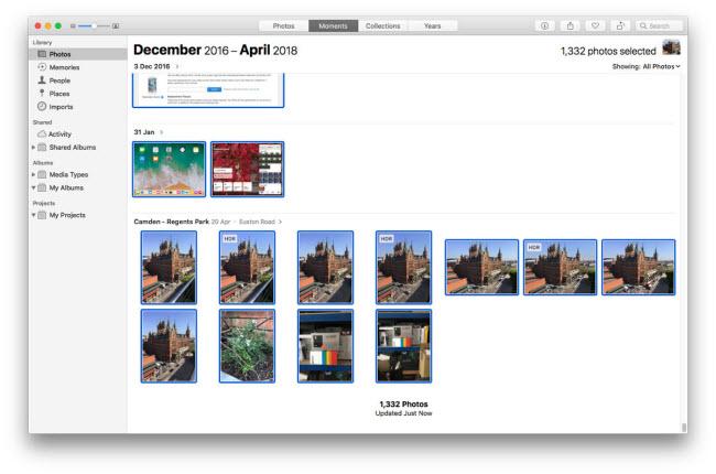 access icloud photo on mac