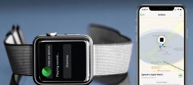 Apple Watch from account