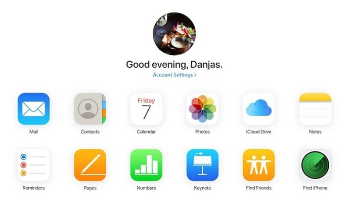go to find iphone tap