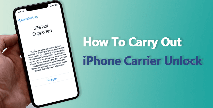 how to carry out iphone carrier unlock