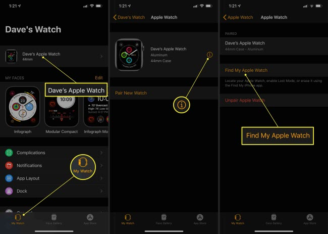 turn on apple watch activation lock