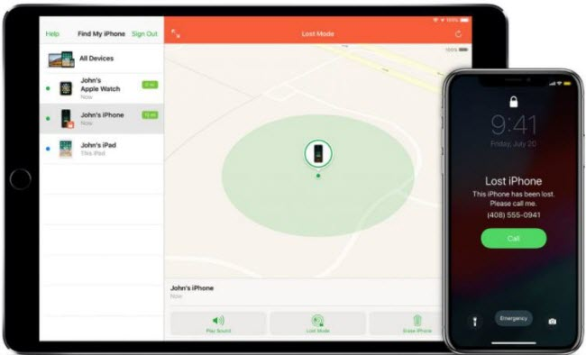 how to turn off Find My iPhone from another device