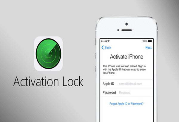 Activation-Locked iPhone