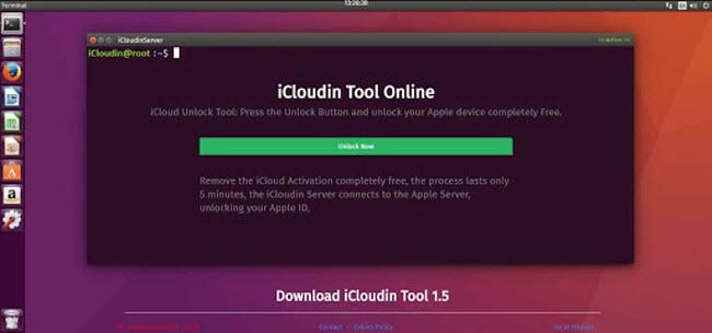 iCloudin online tool