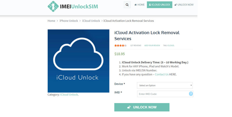 remove activation lock online service