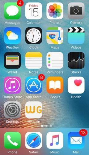 iphone screen unlocked successfully