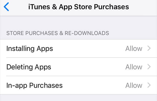 itunes and app store purchases