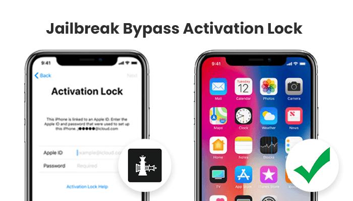 jailbreak bypass activation lock