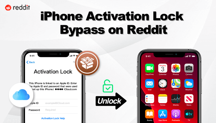 jailbreak and bypass activation lock on reddit