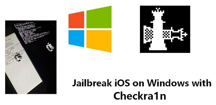 jailbreak iOS device on Windows
