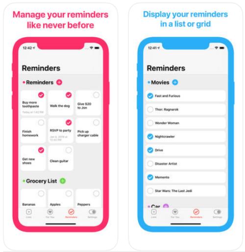 manage reminder app