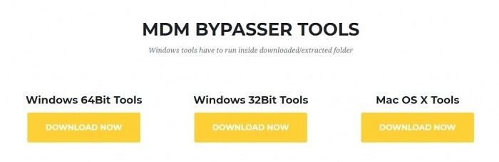 mdm bypasser tools