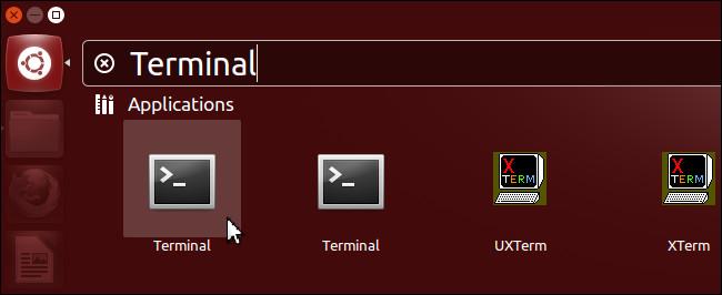use terminal