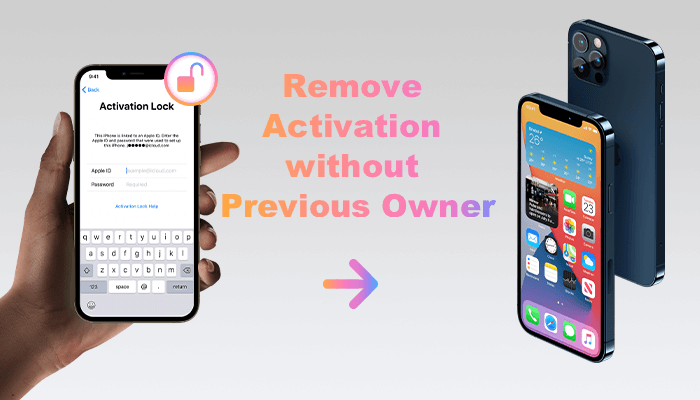 remove activation lock without previous owner's password