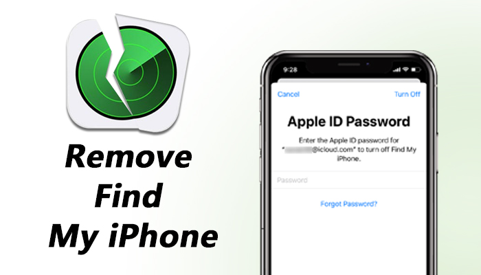 remove find my iphone without previous owner