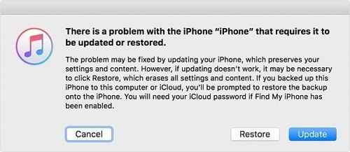 restore or update