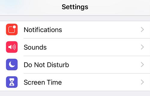 setting screen time
