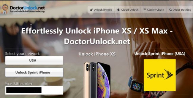 turn off find my iphone with IMEI number