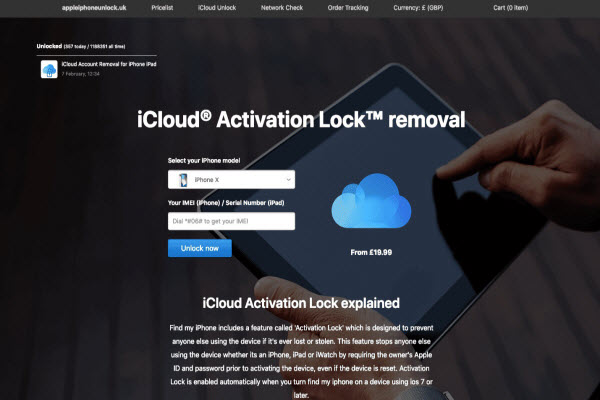 successfully bypass activation lock