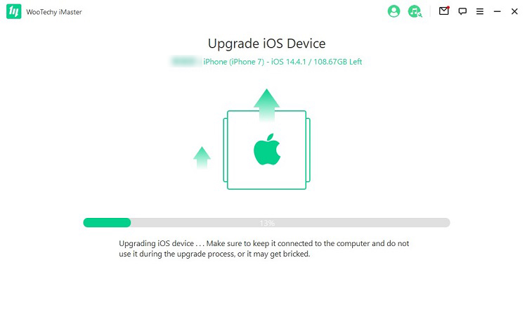 upgrading ios devices