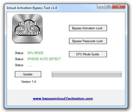 your device is detected by activation lock tool