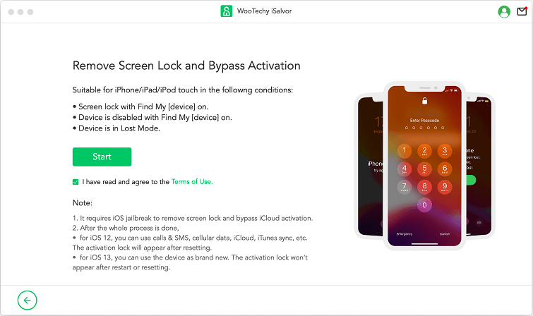 remove lock and bypass